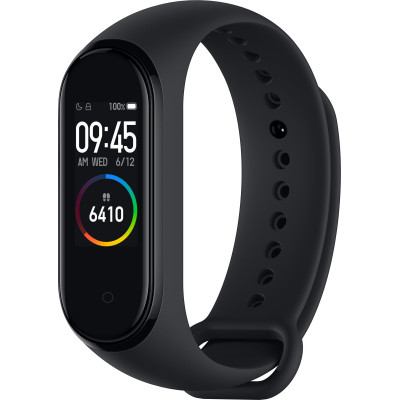 Фитнес-браслет Xiaomi Mi Smart Band 4 Black (MGW4046CN/MGW4052GL)
