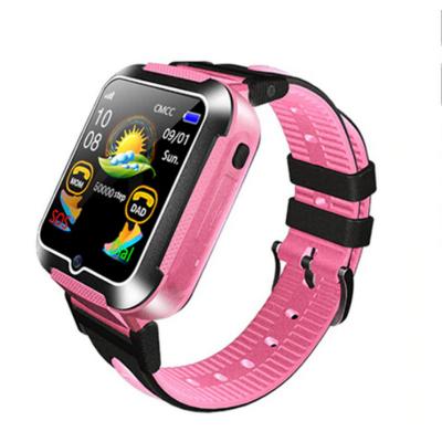 Smart Baby Watch E7+ с GPS — Pink