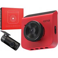 Видеорегистратор 70mai Dash Cam A400 + Камера заднего вида (Международная версия) (Midrive A400 + RC09) Red