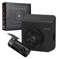 Видеорегистратор 70mai Dash Cam A400 + Камера заднего вида (Международная версия) (Midrive A400 + RC09) Grey
