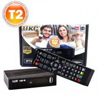Цифровой эфирный приемник TV тюнер T2 UKC-0967 YouTube IPTV WiFi HDMI USB