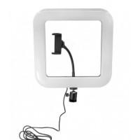 Кольцевая LED лампа D35 28 см, с держателем для смартфона