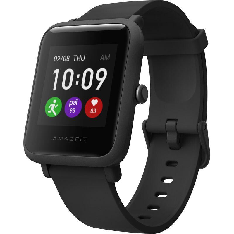 Смарт-часы Amazfit Bip S Lite Charcoal Black (Международная версия)