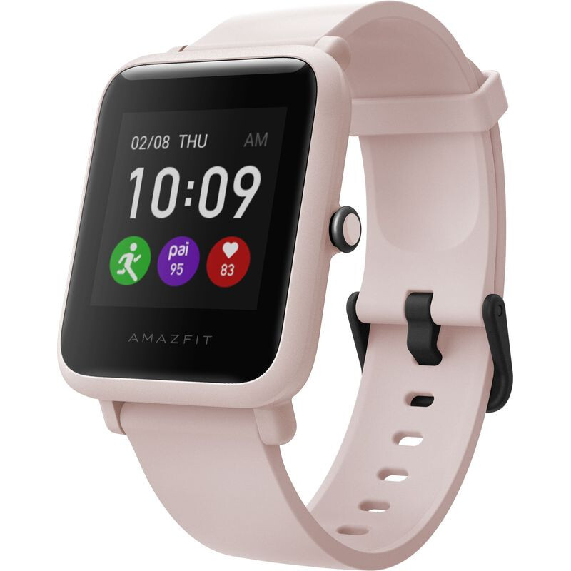 Смарт-годинник Amazfit Bip S Lite Sakura Pink (Міжнародна версія)