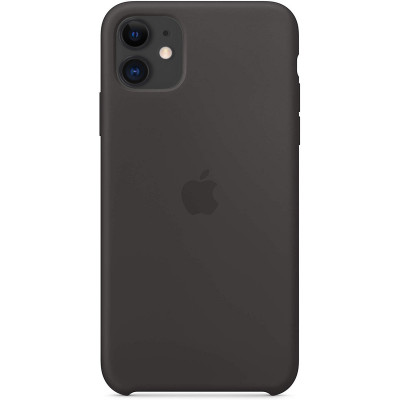 Apple Silicon Case iPhone 11 Black (HC)
