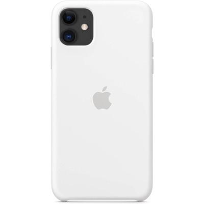 Apple Silicon Case iPhone 11 White (HC)