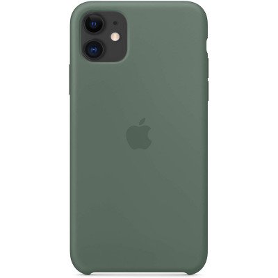 Apple Silicon Case iPhone 11 Pine green (HC)