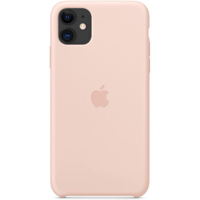 Apple Silicon Case iPhone 11 Pink Sand (HC)
