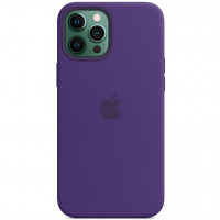 """Чехол Silicone Case with Magsafe для Apple iPhone 12 Pro / 12 (6.1"""") Amethyst"""