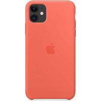 Apple Silicon Case iPhone 11 Сlementine (HC)