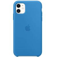 Apple Silicon Case iPhone 11 Surf Blue (HC)