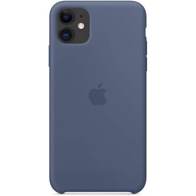 Apple Silicon Case iPhone 11 Alaskan blue (HC)