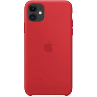 Apple Silicon Case iPhone 11 Red (HC)