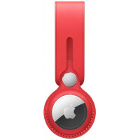 Чехол AirTag Leather Loop (PRODUCT) RED