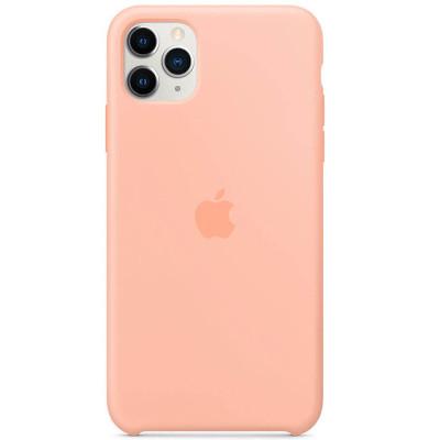 Apple Silicon Case iPhone 11 Pro Grapefruit (HC)