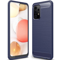 Чехол Carbon для Samsung Galaxy A52 (A525) Blue