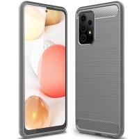 Чехол Carbon для Samsung Galaxy A52 (A525) Gray
