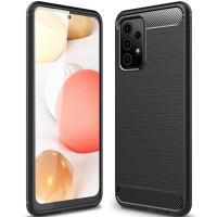 Чехол Carbon для Samsung Galaxy A52 (A525) Black