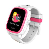 Детские смарт-часы Elari KidPhone NyPogodi White с GPS-трекером (KP-NP-WP)