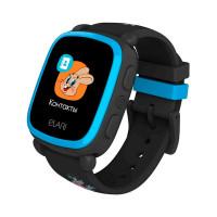 Детские смарт-часы Elari KidPhone NyPogodi Black с GPS-трекером (KP-NP-BP)