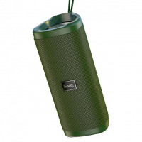 Акустика HOCO Bella sports True Wireless speaker IPX5 HC4  BT, TWS, AUX, FM, TF, USB  Army-Green