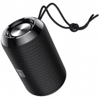 Акустика HOCO Trendy sound sports wireless speaker IPX5 HC1  BT, TWS, AUX, FM, TF, USB  Black