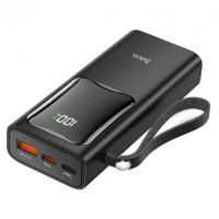 Портативный аккумулятор HOCO Mobi Fully J41 Pro 10000mAh (1USB/Type-C/Lightning, PD/QC, 22.5W, 3A) Black