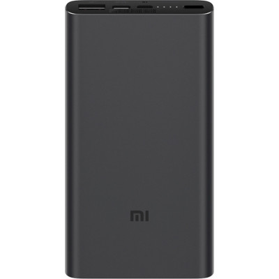 Xiaomi Mi Power Bank 3 10000 mAh (USB+Type-C) PLM12ZM Black (VXN4253CN/VXN4274GL)