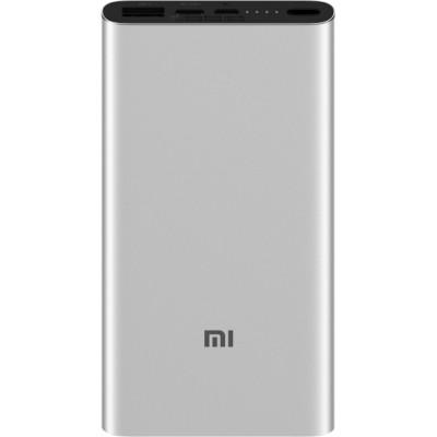 Xiaomi Mi Power Bank 3 10000 mAh (USB+Type-C) PLM12ZM Silver (VXN4251CN/VXN4273GL)