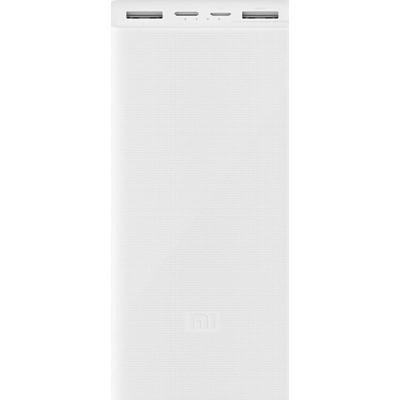 Xiaomi Mi Power Bank 3 20000 mAh (2USB+Type-C) PLM18ZM White (VXN4258CN)