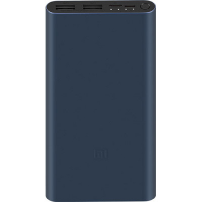 Xiaomi Mi Power Bank 3 10000 mAh (2USB+Type-C) PLM13ZM Black (VXN4260CN)