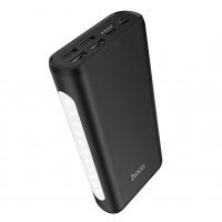 Портативный аккумулятор HOCO J60 30000mAh |4USB/Type-C/Lightning, 2A| Black