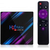 ТВ-приставка Rockchip TV BOX H96 MAX RK3318 4/64Gb 4K