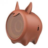 Портативная акустика BASEUS Q Chinese Zodiac Wireless Speaker E06 Brown