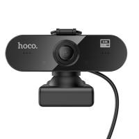Web Камера HOCO USB Computer Camera DI06 (HD, 4MP, 1.5M, 360°)