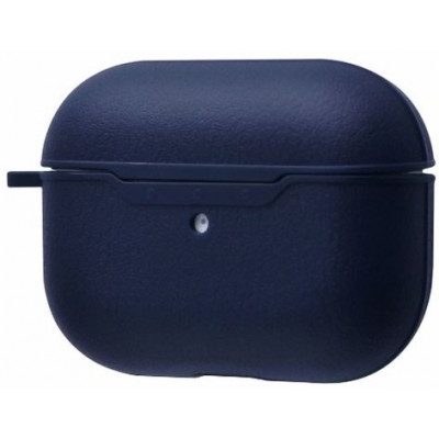 Airpods Pro Leather Case Blue