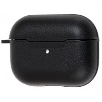 Airpods Pro Leather Case Black