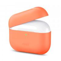 Силиконовый кейс для AirPods Pro Orange (без карабина)