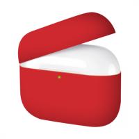 Силиконовый кейс для AirPods Pro Red (без карабина)