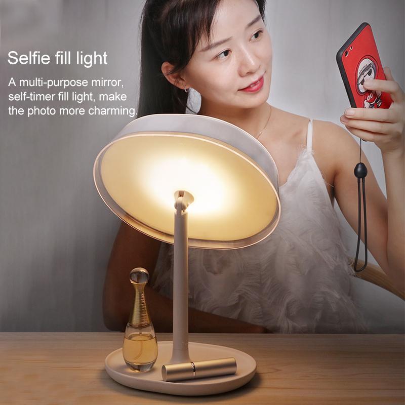 Зеркало для макияжа с подсветкой + светильник Joyroom JR-CY266 White