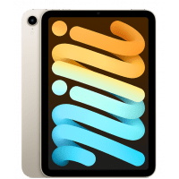 Apple iPad Mini (6 Gen) 256GB Wi-Fi + Cellular 2021 Starlight (MK8H3)