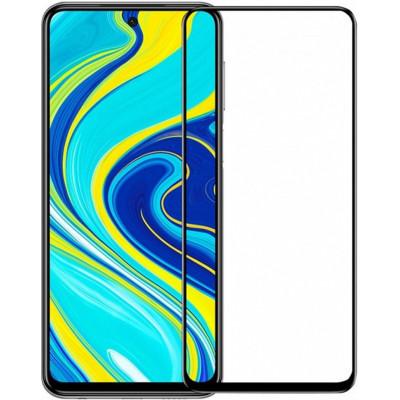 Защитное стекло Redmi Note 9 5D (полный клей)