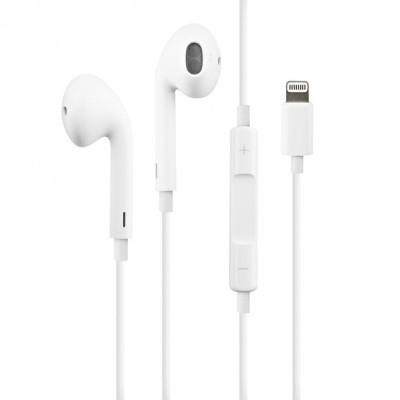 Наушники Apple EarPods с разъёмом Lightning (MMTN2ZM/A) Original