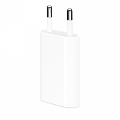 Сетевое зарядное устройство Apple USB Power Adapter 1A (MD813) Original