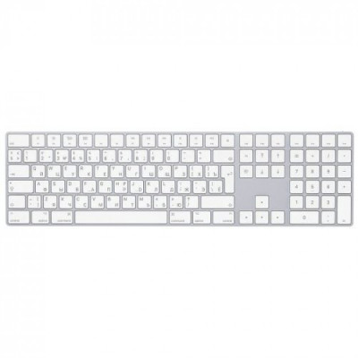 Клавиатура беспроводная Apple Magic Keyboard with Numeric Keypad (MQ052)
