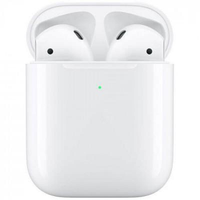 Беспроводные наушники Apple AirPods 2 (MRXJ2) с возможностью беспроводной зарядки
