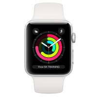 Apple Watch Series 3 (GPS) 38mm Silver Aluminum Fog Sport White (MTEY2)