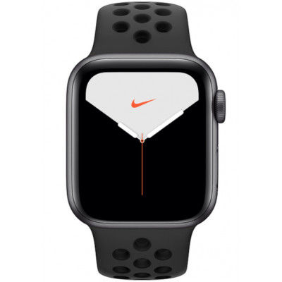 Apple Watch Nike Series 5 (GPS) 40mm Space Grey Aluminium Case with Anthracite/Black Nike Sport Band (MX3T2)
