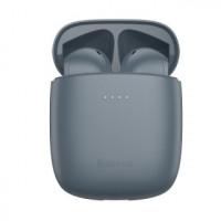Наушники Bluetooth BASEUS Encok True Wireless Earphones W04 Pro Grey