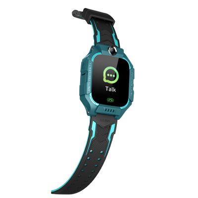 Детские смарт-часы Brave Q19 SIM (GPS, Camera, SOS, FlashLight, Waterproof) Cyan